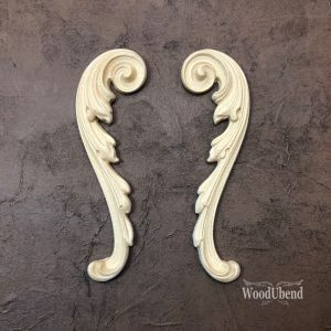 How to create a french wall panel with WoodUbend mouldings and Posh Chalk pigments.