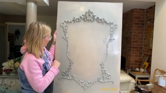 How to create a french wall panel with WoodUbend Mouldings