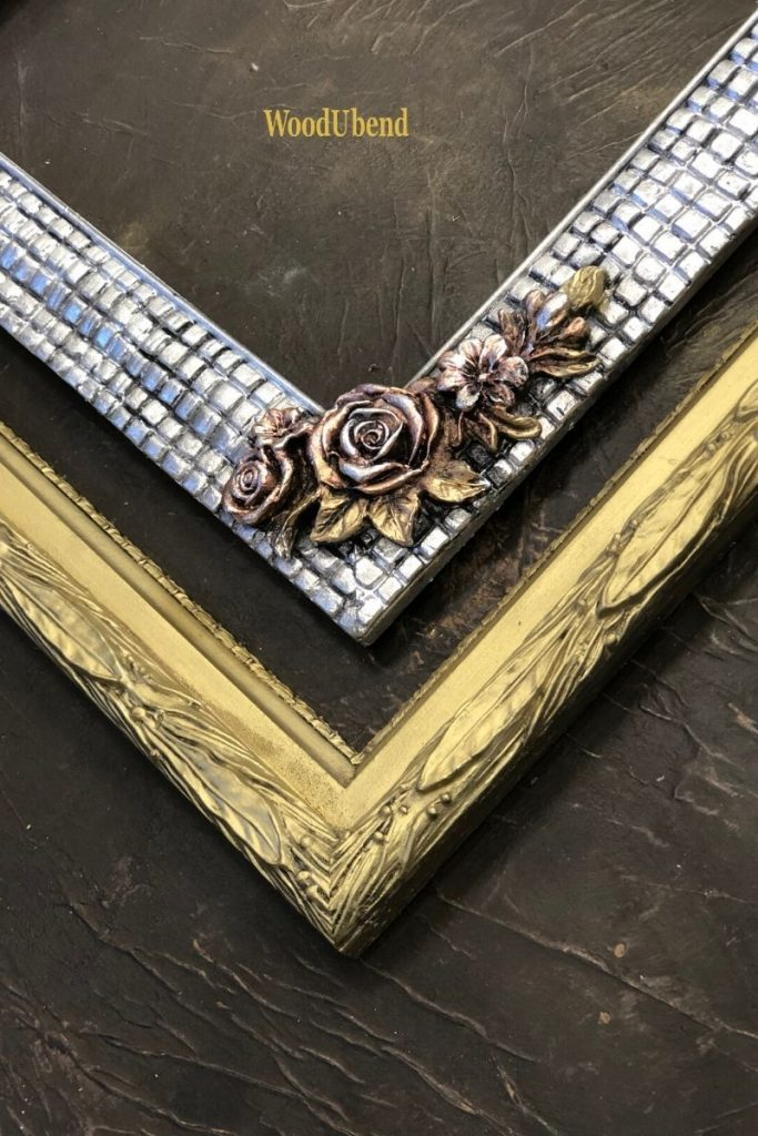 How to upcycle a picture frame with WoodUbend mouldings