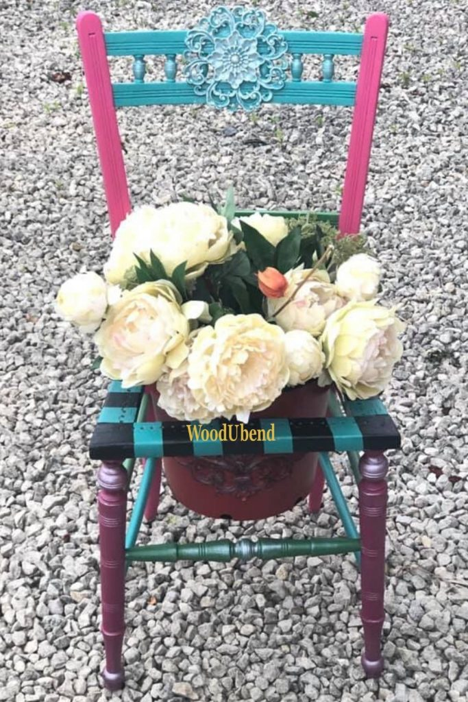 Plant pot makeover with WoodUbend mouldings.