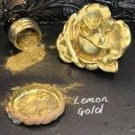Posh Chalk Pigment Lemon Gold + Rose Moulding