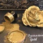 Posh Chalk Pigment Byzantine Gold + Rose Moulding
