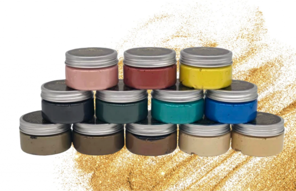 Posh Chalk Metallic Smooth Paste