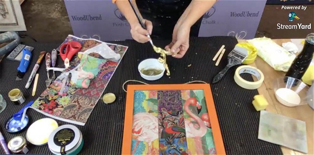 Lemon Gold Pigment Posh Chalk
